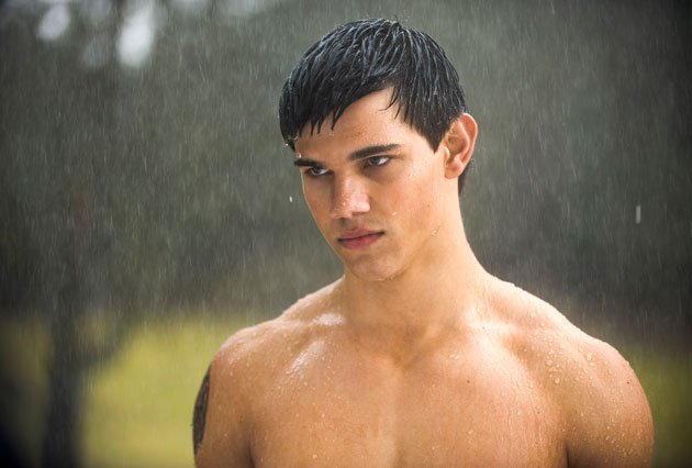 Twilight Sexiest Moments: Taylor Lautner topless in the rain. Nuff said.