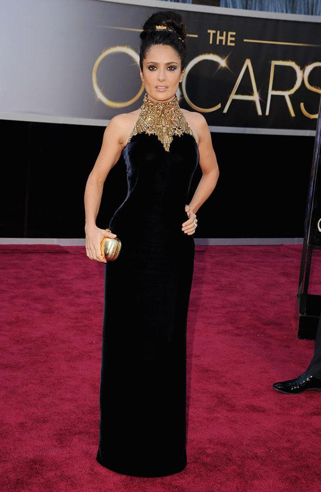 85th Annual Academy Awards - Arrivals: Salma Hayek