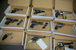FILE--In this Dec. 9, 2013, file photo, firearms evidence…