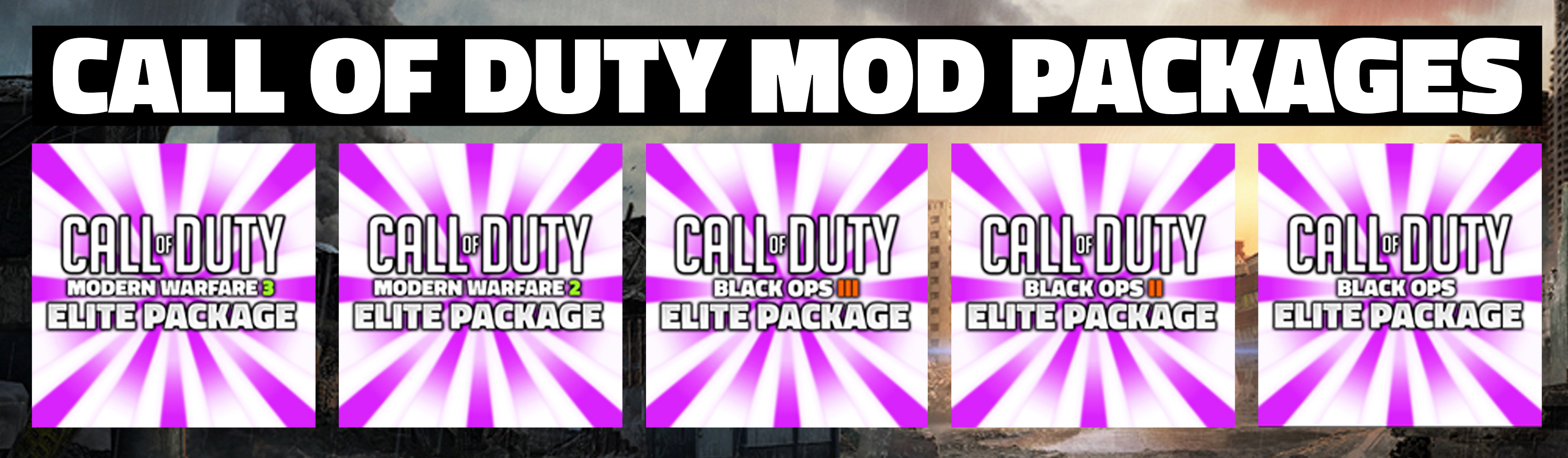 COD Mod Packages
