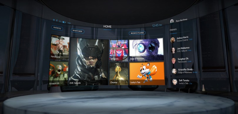 oculus-home-connected