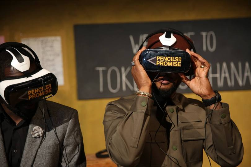 Usher Pencils of Promise Virtual Reality
