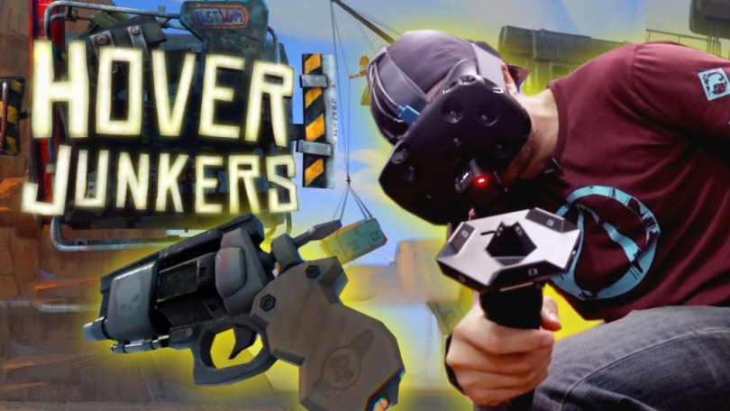 Hover Junkers to launch on HTC Vive