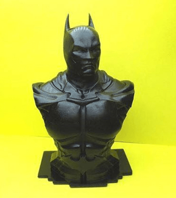 Black 3D rapid resin