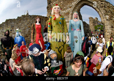 Giants At The Traditional Jack In The Green Hastings May