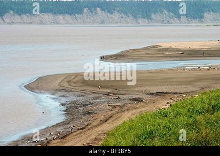 Fort Simpson on Mackenzie River, Northwest Territories ...