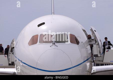 Boeing 787 Dreamliner Twin Engine Jet Airliner Of Lot