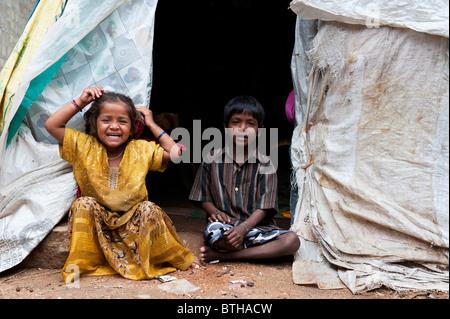 Homeless Boy Sleeping Rough In Street Stock Photo Royalty