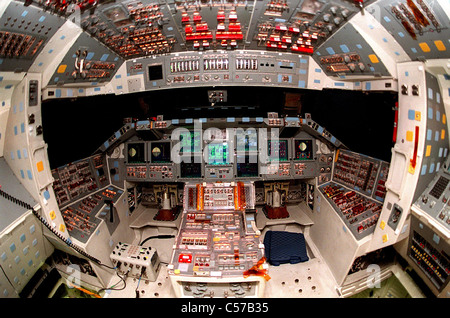 Space Shuttle Atlantis on Display at NASA Kennedy Space