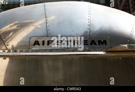 Airstream Classic American Caravan Stock Photo 29094360