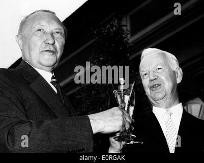Federal President Heinrich Lubke in his reply to the ...