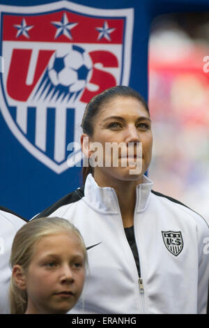 May 30, 2015: US Women's National Team midfielder Tobin ...