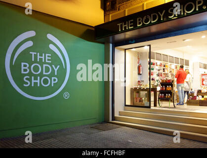 Body Shop store entrance in Lakeside West Thurrock ...