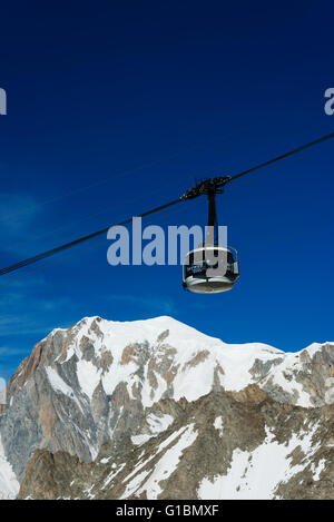 View Of Scenic Skyway Cable Car With The Three Sisters