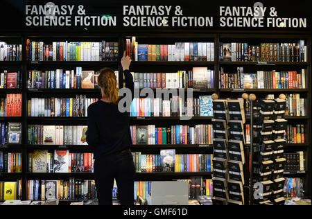 Image result for science fiction fantasy book shelves