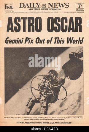 Apollo 1 astronaut Edward Higgins White II still in his ...