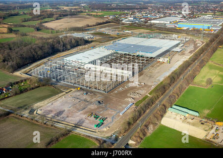 Aerial View Amazon Building And Construction Site Of The Lidl Stock Photo Royalty Free Image