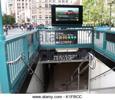 14th Street – Union Square Subway Station Manhattan New ...