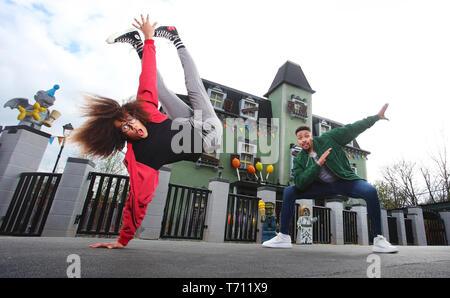 Hair-raising flips and tricks from dancing Diversity duo ...