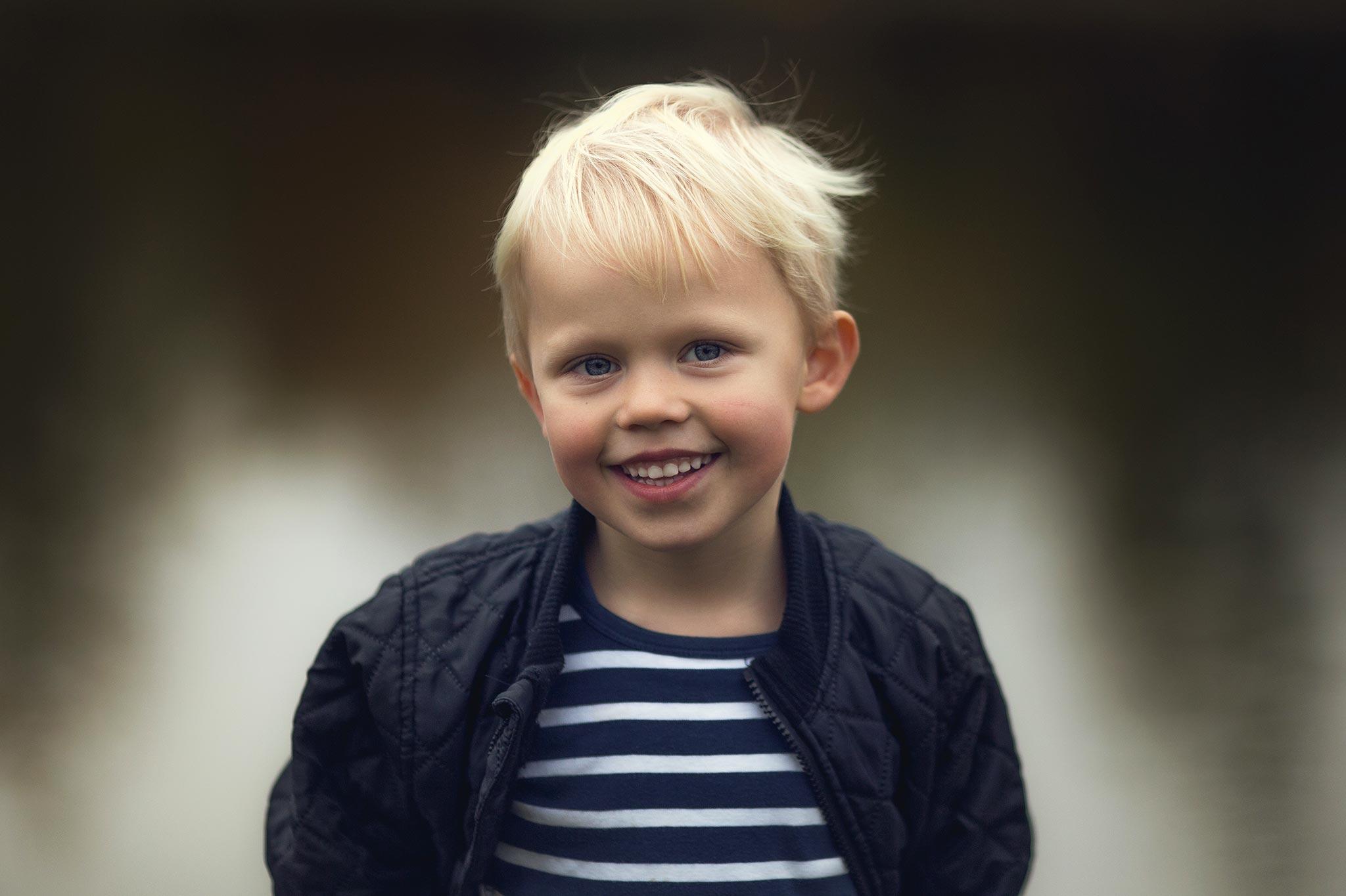 portræt af børn