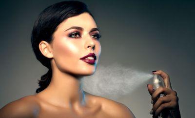 Spray fixateur de makeup