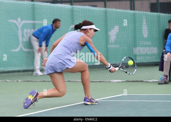 Bulgarian Professional Tennis Player Stock Photos ...