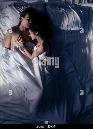 Love Couple In Moonlight Stock Photos Amp Love Couple In