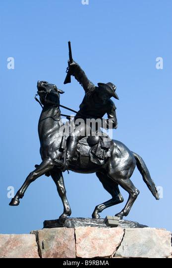 Buffalo Bill Statue Stock Photos & Buffalo Bill Statue ...