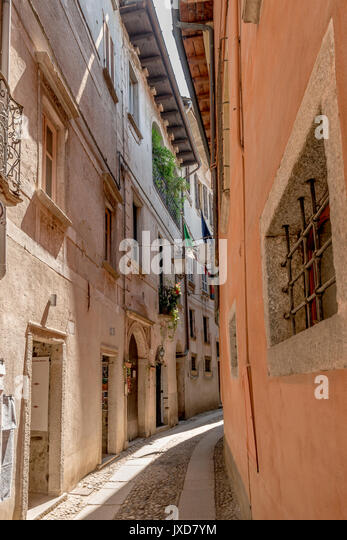 Pedestrian Alley Stock Photos & Pedestrian Alley Stock ...