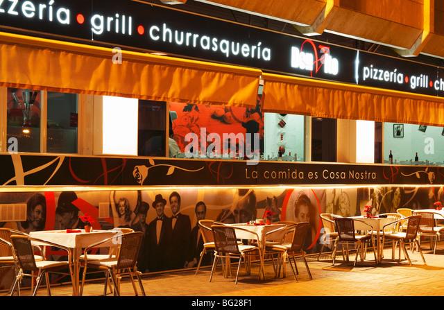 Italian Cafe Night City