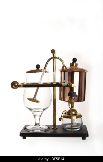 Brass Coffee Machine Stock Photos Amp Brass Coffee Machine