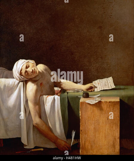 Death Of Marat Stock Photos Amp Death Of Marat Stock Images