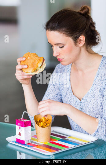 Eating Fat People Mcdonalds Fries