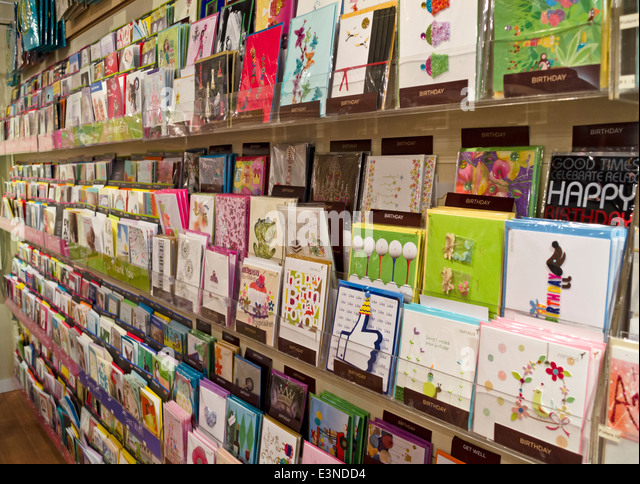 Greeting Cards Store Stock Photos Amp Greeting Cards Store