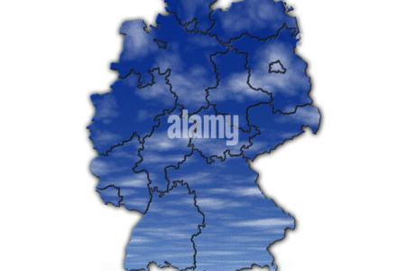Weather Chart Stock Photos   Weather Chart Stock Images   Alamy germany weather map   Stock Image