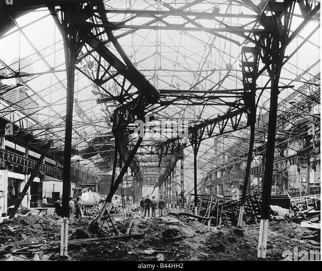 Image result for renault factory paris bombed ww2