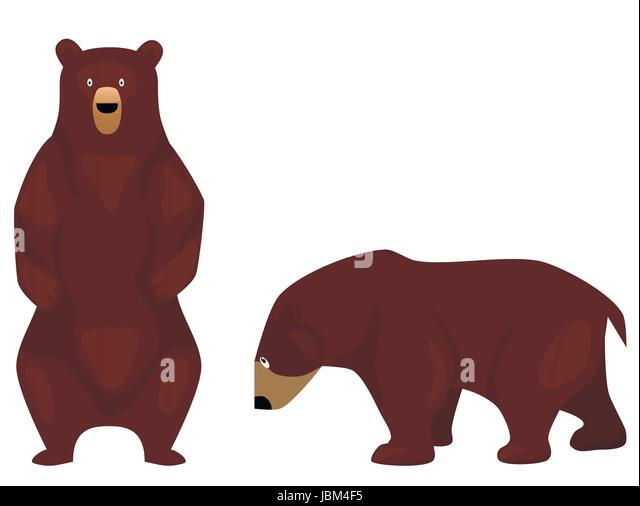 Grizzly Bear Stock Vector Images Alamy