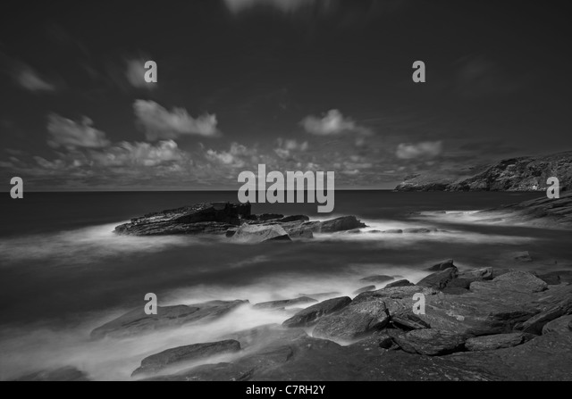 Tintagel Black And White Stock Photos Amp Images Alamy