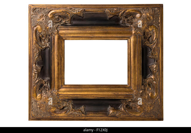 Fl Frame In Baroque Style Vector Free