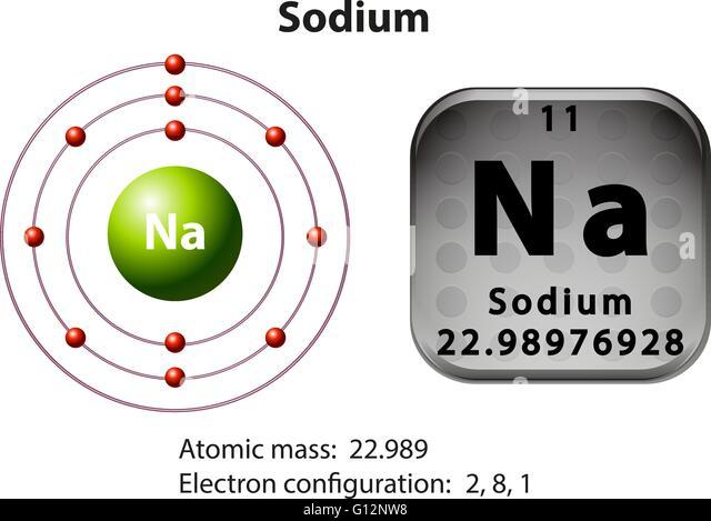Vanadium Atomic Diagram