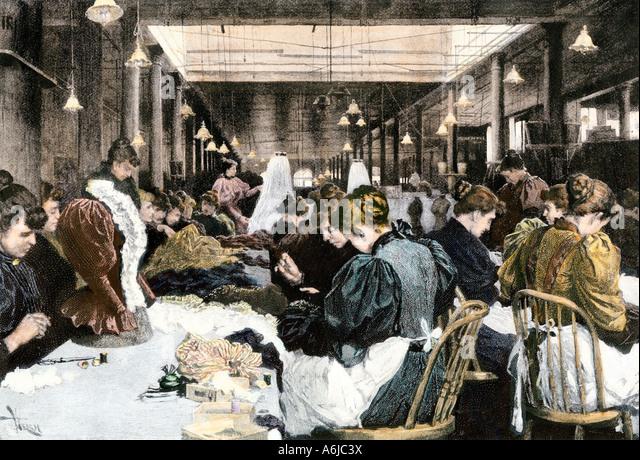 Image result for women in sweatshops 1890s