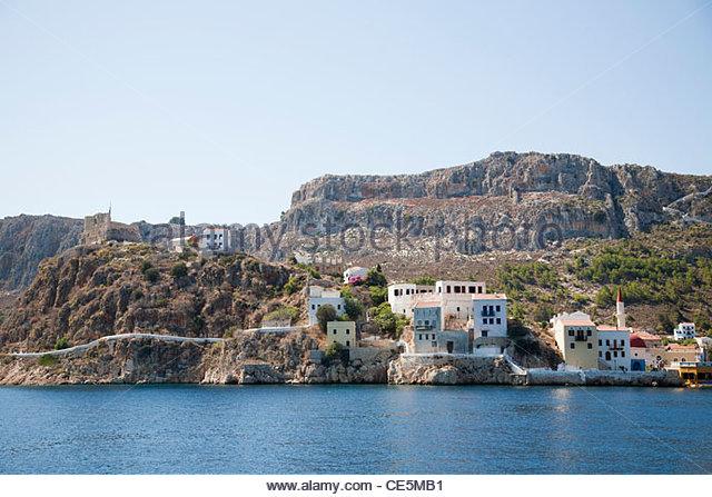 Kastelorizo Dodecanese Islands Greece Night
