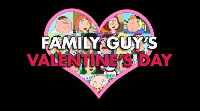 Family Guy Valentines Day L7 World