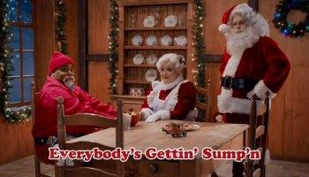 snl sumpn claus christmas song about black santa - Saturday Night Live Christmas Song