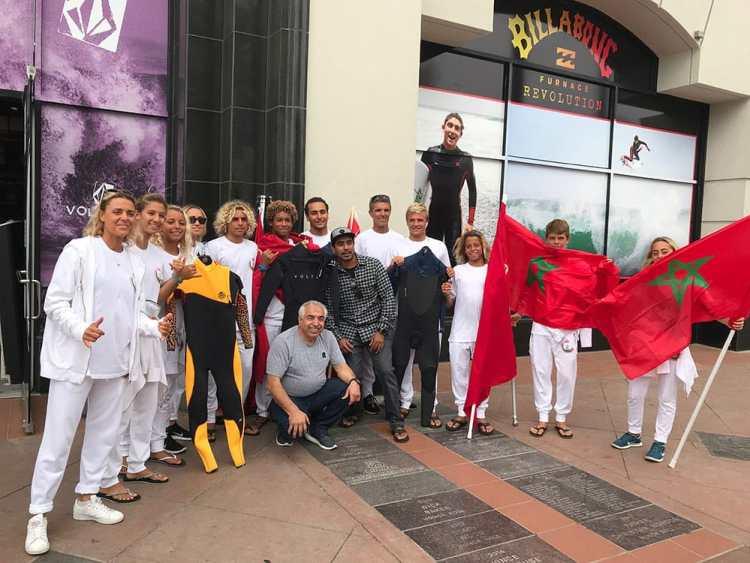 Bob and Moroccan team. 2018