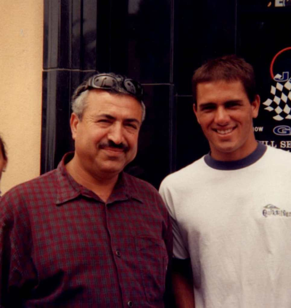 Ron and Kelly Slater