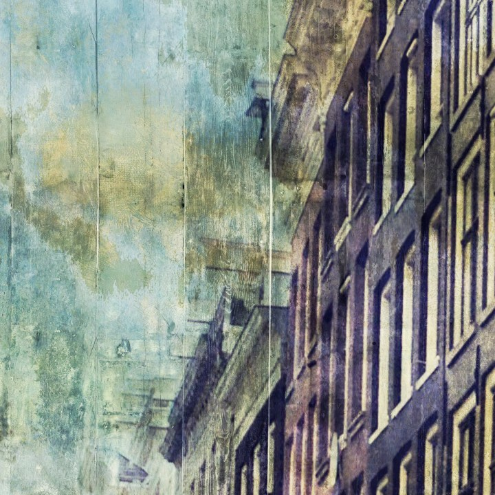 Amsterdam City, a wallpaper from the Dutch Dreams wallpaper collection by La Aurelia