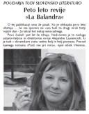 <em>La balandra</em> número 12 en <em>Svobodna Slovenija</em> · 08-12-2016