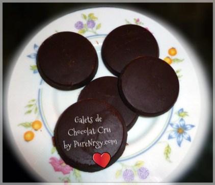 galets de chocolat cru faits maison
