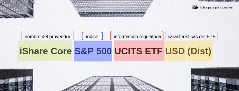 Estructura de un ETF